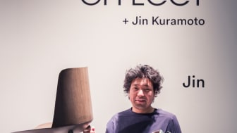 Jin by Jin Kuraoto. Winner of Editor choise reward 2018, best product on the show, Stockholm Furniture Fair.  Best