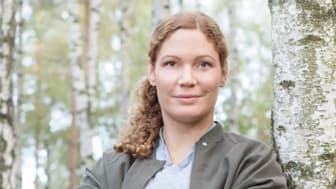 Kocken och krögaren Sofia B Olsson från restaurang vRå blev Stella Mentor 2019.