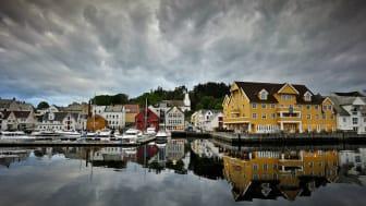 Quality Hotel Florø øker dusjkomforten og sparer energiforbruket ved hjelp av dusjhoder fra Mora Cera S5. (Foto: Quality Hotel Florø)
