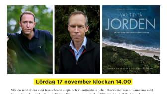 Möt Mattias Klum & Johan Rockström på Akademibokhandeln City