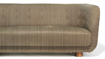 Flemming Lassen: Freestanding 2,5 seater sofa