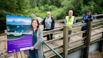 Walk on through Bury's beautiful nature, guided by local experts