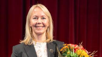 Kathrine Löfberg, ordförande i Löfbergs, onoterade bolag