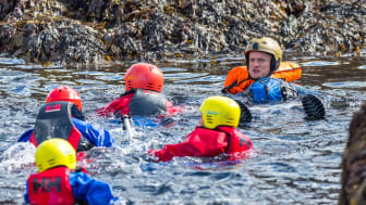 Coasteering at Portknockie2