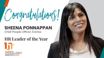 Everise CPO Sheena Ponnappan awarded 'HR Leader of the Year 2020'