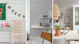 Det har aldrig varit enklare att skapa personliga hem - Eco Wallpaper lanserar Decorama EasyUp med 60 olika tapeter