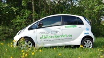 Öresundskraft stödjer svenskt rekordförsök med elbil