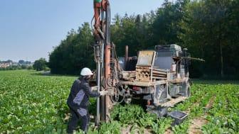 Bayernwerk untersucht Baugrund für geplantes Erdkabel