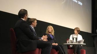 Anders Borg, Carl Eckerdal, Kerstin Hallsten och Åsa Julin