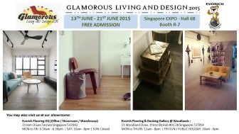 Evorich Flooring Group at Glamorous Living and Design 2015