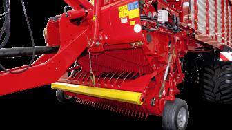 Pöttingers nyutvecklade rotor och transmission