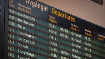 Plus sju procent på Arlanda i maj