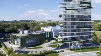 L'innovation prend vie sur le tout nouveau campus d'innovation de Living Tomorrow, qui ouvrira ses portes en 2022. Outre le centre d'expérience et l'hôtel, le port de drones attirera certainement l'attention.