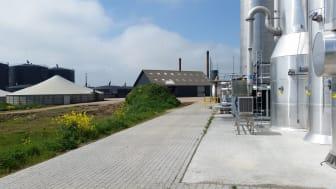 Linkogas biogas upgrading plant in Lintrup, Denmark