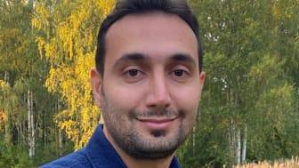 Shoaib Azizi är doktorand på Institutionen för tillämpad fysik och elektronik vid Umeå universitet. Foto: Yagana Qanavizian