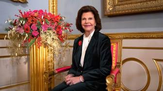 H.M. Drottning Silvia inleder konferensen Sverige mot narkotika. Foto: Victor Ericsson, Kungl. Hovstaterna