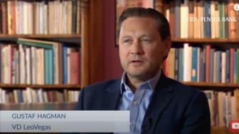 Intervju med LeoVegas VD Gustaf Hagman