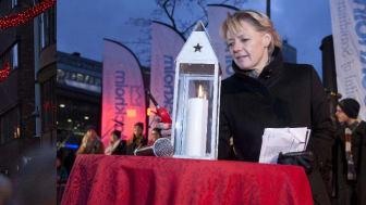 Ulla Hamilton (M): Årets julbelysning för Stockholm City invigd