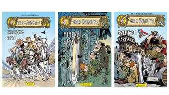 Stevali Barn tar över utgivningen av  den populära barnserien om vikingaflickan Siri.