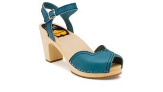 Heart Sandal - turquoise
