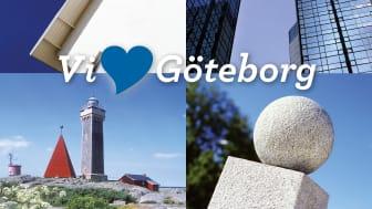 """Jubileumsboken """"Vi älskar Göteborg"""" Från 80-åriga sockerlådor till dagsfärska smultronställen"""