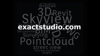 Exact och SkyMap fördjupar sitt samarbete genom att integrera SkyView i den nya digitala leveransplattformen Exactstudio.com.
