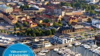 Karlskronas besöksguide trycks i 50 000 ex och är svensk/engelsk.