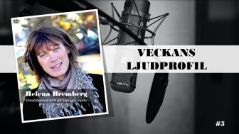 Veckans ljudprofil - Helena Bremberg