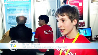 TVA-Fernsehbeitrag: Jugend forscht: Teilnehmer stellen ihre Projekte vor.