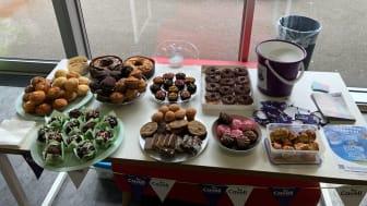 Finegreen raise over £120 in cake sale for Cavell Nurses' Trust