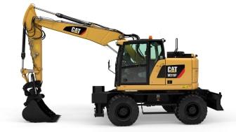 Cat M315F, frilagd