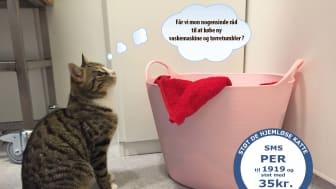 Per-Arne drukner i vasketøj!!
