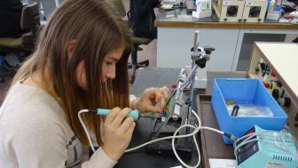 Mädchen voller Energie – Girls'Day beim Bayernwerk in Bayreuth und Pfaffenhofen