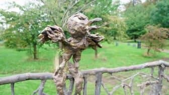 Barnens skulpturpark - Fågelkärlek (detalj1)