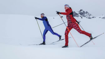 No matter what your skiing style, you will most certainly not go unnoticed on the cross-country trail with these styles.