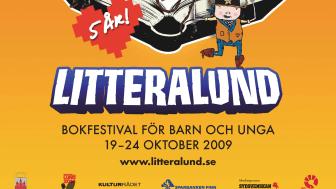 LitteraLunds femårsjubileum och generalprogramsläpp!