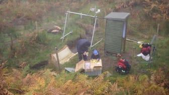 Feltarbeid Nordøst-Skottland forbrenning av organisk materiale