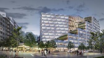 BSK Arkitekter utformar den nya stadsdelen som  byggs i anslutning till den nya tunnelbanestationen Södra Hagalund i Solna.