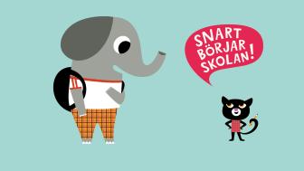 Bild: Stockholms stad, katten och elefanten. Söka skola.