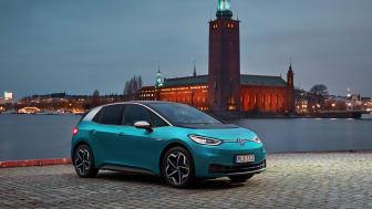 ID.3 var Sveriges populäraste elbil under 2020.