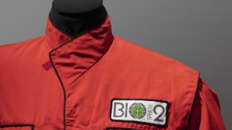 Materiale fra Biosphere 2, boilersuit