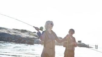 Fler kvinnor väljer fritidsfiske som hobby - det visar ny officiell statistik från HaV. Fotograf: Maja Stina Nylander.
