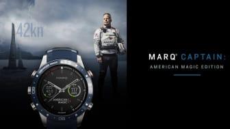 Garmin® lanseerasi MARQ® Captain - American Magic Edition premium älykellon