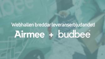 Webhallen lägger till Airmee och Budbee i sitt leveransutbud för att möta den ökade efterfrågan av hemleveranser