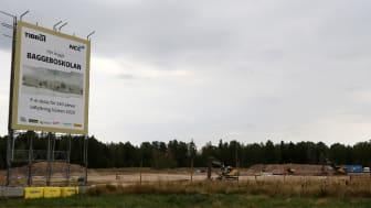 Dags för första spadtaget för Baggeboskolan - Tibros nya F-6-skola