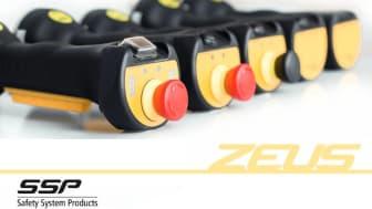 Styr din maskine ergonomisk og sikkert med ZEUS betjeningsgreb fra SSP