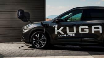 Ford-eiere får full kontroll på ladingen med eRange IQ og CloudCharge-appen.