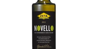 Nyhet:  Zeta Novello 2011 – purfärsk, nypressad, italiensk olivolja