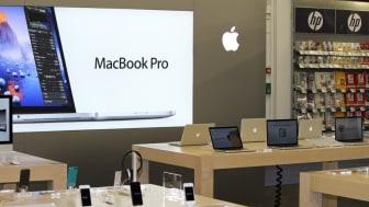Apple med verdenspremiere på Elkjøp Megastore i Oslo