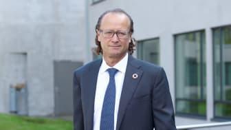Konserndirektør for kapitalforvaltning i Storebrand, Jan Erik Saugestad, stiller nye klimakrav til selskapene i investeringsporteføljen.